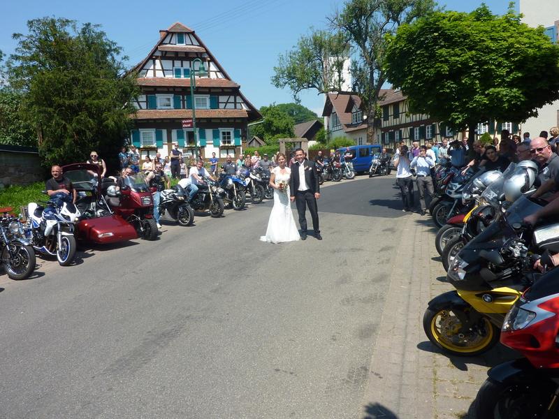 ... aussprechen für Eure Teilnahme am Spalier zu unserer Hochzeit